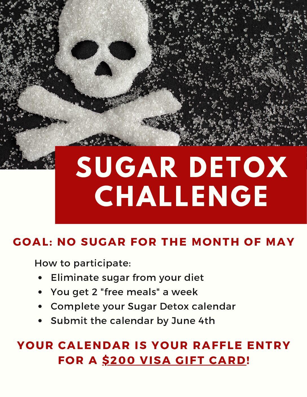 Sugar Detox Challenge: May 2021